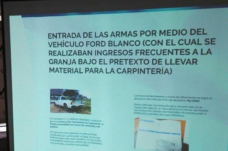 En este picop supuestamente ingresaron las armas y las municiones con las que habrían matado a Byron Lima. (Foto Prensa Libre: Henry Pocasangre)