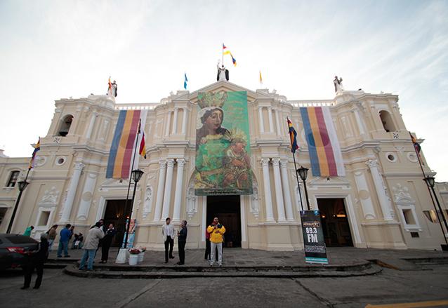 Fachada actual de la Basílica Menor de Nuestra Señora del Rosario. (Foto: Hemeroteca PL)