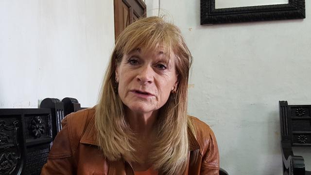 La alcaldesa Susana Asensio recibió una sanción administrativa por baja ejecución del presupuesto 2016 de la comuna de Antigua Guatemala. (Foto Prensa Libre: Julio Sicán)