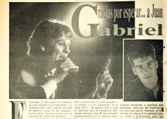 Página de Prensa Libre donde anunciaba un concierto en Guatemala. (Foto Prensa Libre: Hemeroteca PL)