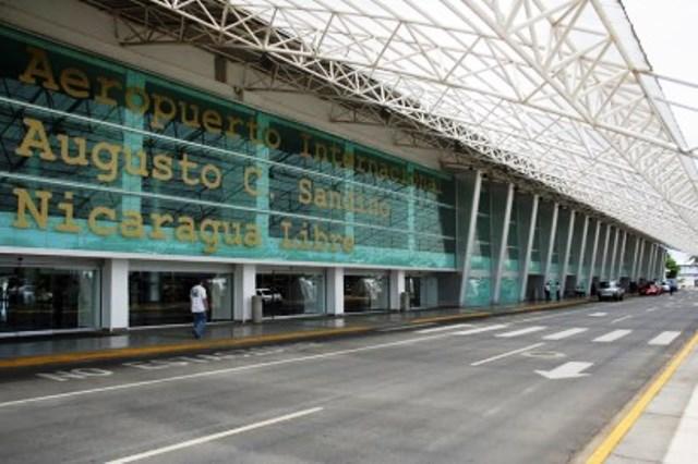 Aeropuerto Augusto Sandino de Nicaragua.
