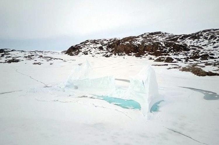 Este es el paisaje que los pobladores de Qikiqtarjuaq ven todos los días. QAJAAQ ELLSWORTH