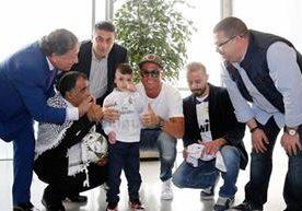 El pequeño palestino de 5 años cumplió su sueño de visitar al Real Madrid.