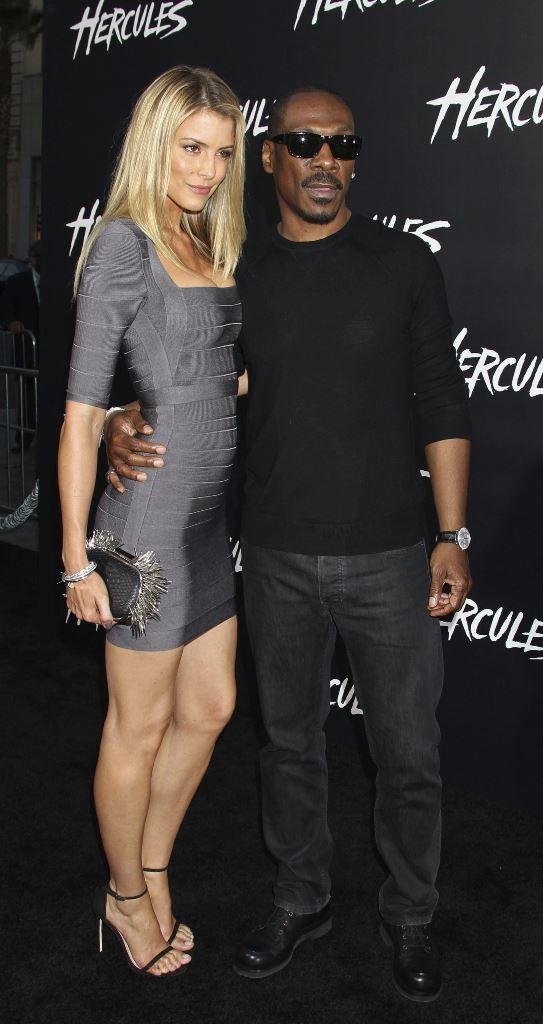 El actor estadounidense Eddie Murphy y su pareja, la modelo Paige Butcher, serán padres en 2016. Para Murphy será su noveno hijo. (Foto Prensa Libre: EFE)