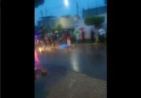 Lugar donde ocurrió el ataque armado en la colonia Ciudad del Sol. Foto Prensa Libre: Notí San José V.N.