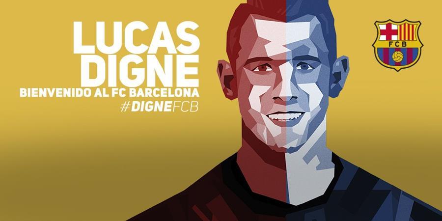 Con esta fotografía el FC Barcelona hace oficial el fichaje en su página oficial. (Foto Prensa Libre: FC Barcelona)