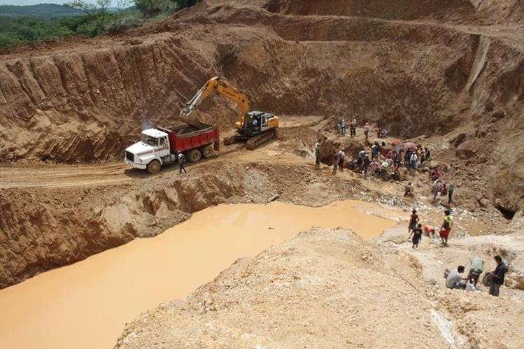 Minería está mejorando ingresos en Nicaragua. (Foto Hemeroteca PL)