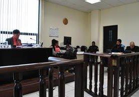 <p>La audiencia se realizó en el juzgado segundo de instancia penal de Quetzaltenango. (Foto Prensa Libre: Alejandra Martínez)<br></p>