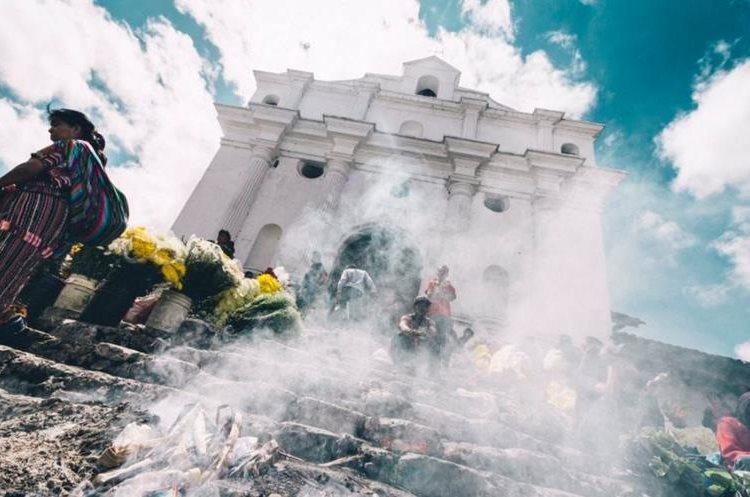 Chichicastenago fue parte del itinerario turístico para los influencers. (Foto Prensa Libre: @roadtowild)