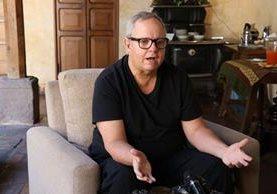 Raúl Touzon es un fotógrafo y documentalista de NatGeo. (Foto Prensa Libre: Julio Sicán)