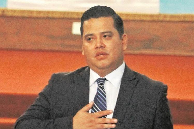 Marvin Mérida, excomisionado de Jimmy Morales, con rango de embajador, firmó un contrato de lobby con una empresa de EE. UU. (Foto Prensa Libre: HemerotecaPL)