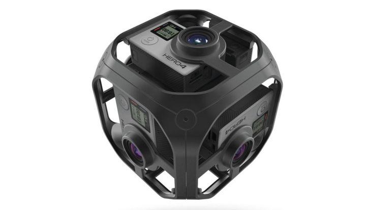 El modelo Omni de Go Pro tiene 6 cámaras. GO PRO