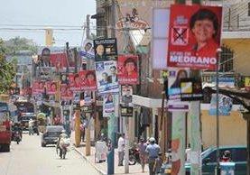 Propuesta eleva el gasto estatal para la campaña y no pone límite al gasto privado. (Foto Prensa Libre: Hemeroteca PL)