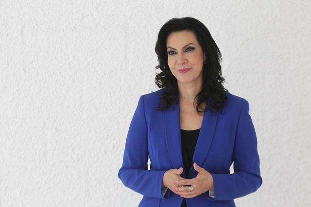 Zury es la hija del general retirado Efraín ríos Montt, quien fue presidente de Guatemala. (Foto Prensa Libre: Esbin García)