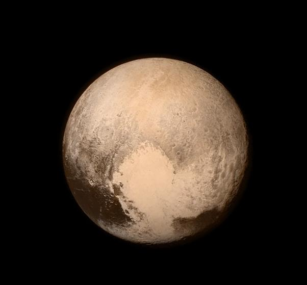 Fotografía de Plutón. (Foto Prensa Libre: NASA)