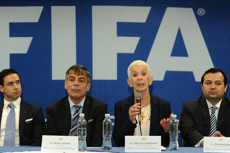 Adela Torrebiarte es la presidenta del Comité de Normalización de la Fedefut. (Foto Prensa Libre: Hemeroteca PL)
