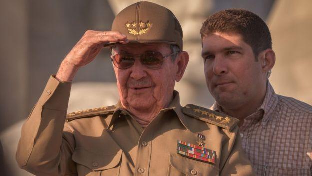 Raúl Rodríguez Castro, nieto de Raúl Castro y uno de los miembros del primer círculo de seguridad del mandatario, es una de las figuras más visibles de la familia. AFP