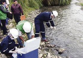biólogos investigan principales caudales de Argentina con resultados poco alentadores.(EFE).
