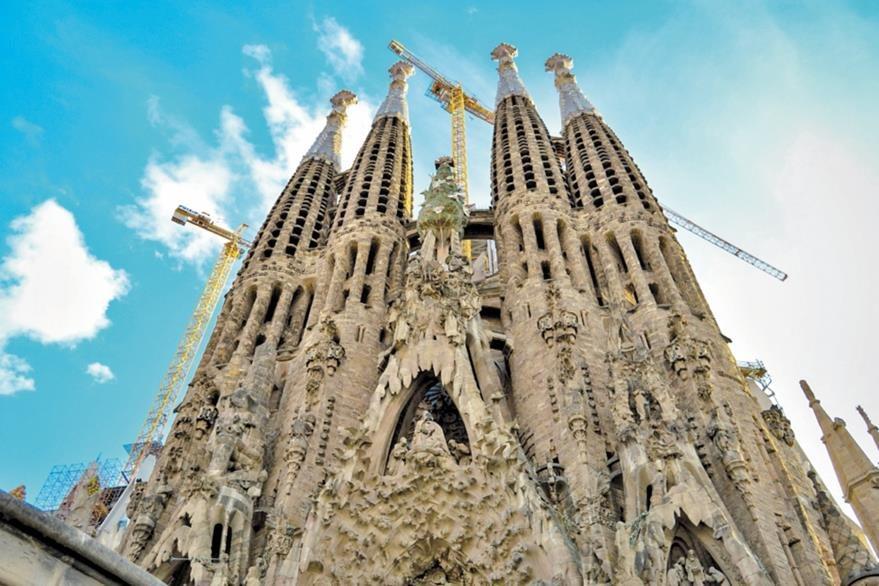La construcción de la Basílica de la Sagrada Familia estará lista en el 2026.