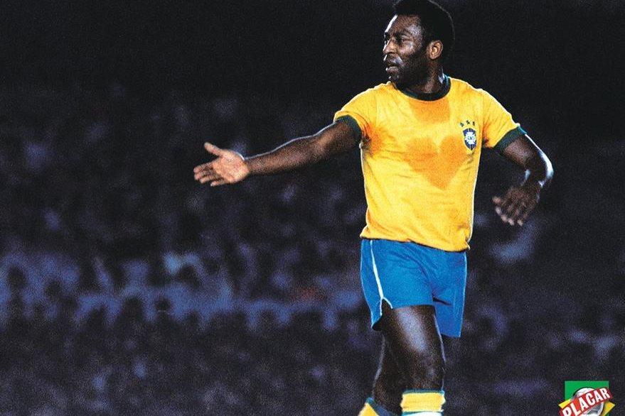 Pelé quedó enmarcado en la historia del futbol mundial. (Foto Prensa Libre: Hemeroteca)