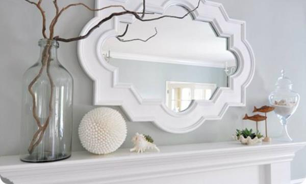 Los espejos pueden convertirse en piezas de decoración. (Foto Prensa Libre Hemeroteca)