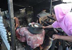 Incendio causa desastre en el asentamiento Los Pinos.<br />