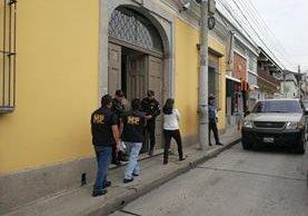 El 2 de octubre se registró el robo de Q5 mil en efectivo, computadoras y otros artículos de la Academia IGA, zona 1. (Foto Prensa Libre: Fred Rivera)