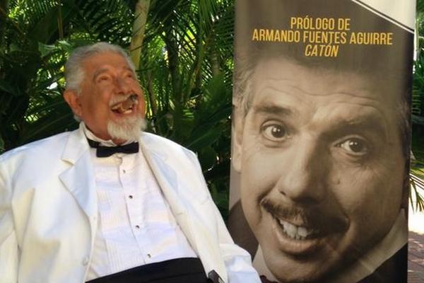 Rubén Aguirre publicó el libro Despúes de usted. (Foto Prensa Libre: Tomada de twitter.com/jirafalesruben)