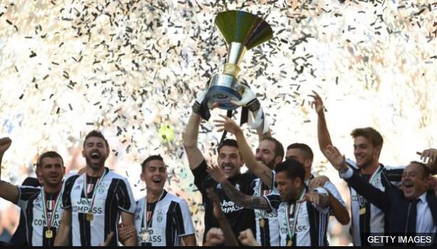 La Juventus mantuvo su hegemonía en el calcio italiano al conquistar su sexto título consecutivo.