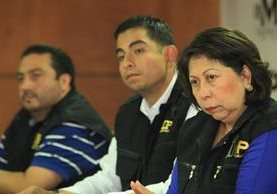Rottman Pérez y Mayra Véliz fueron denunciados por tráfico de influencias y otros delitos. (Foto Prensa Libre: Hemeroteca PL)