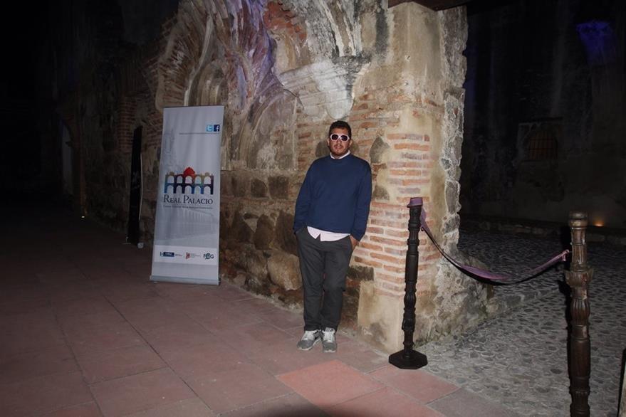 El cineasta guatemalteco, Julo Hernández fue el encargo de abrir el Festival Ícaro 2015 con el largometraje Te prometo anarquía. (Foto Prensa Libre: Miguel López).