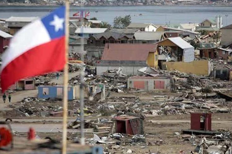 Científicos comprobaron que el terremoto como el de Maule, Chile, del 2010 ocurrió en momentos de una gran fuerza de marea alta. (Foto Prensa Libre: EFE)