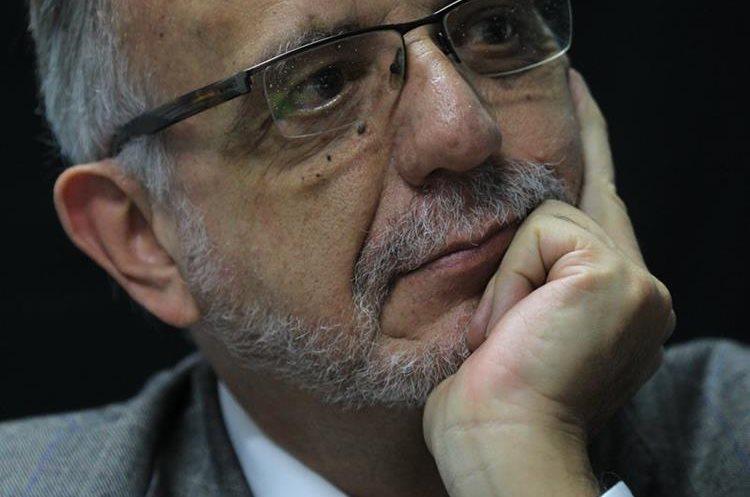 Iván Velásquez resaltó la importancia de la fiscalización y la acción social en contra de la corrupción. (Foto Prensa Libre: Hemeroteca PL)