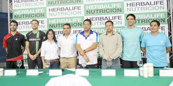 La Federación de Bádminton de Guatemala presentó a los medios de comunicación el International Challenge 2015 (Foto Prensa Libre: Edwin Fajardo)