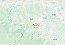 En Ixchiguán, San Marcos, un adolescente de 15 años murió por golpes que varios compañeros de estudio le propinaron. (Foto Prensa Libre: Google Maps)