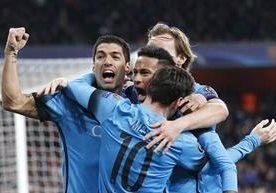 """FC Barcelona"", ""Arsenal"", ""Champions League"", ""Lionel Messi"""