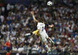 El Real Madrid recibió al Atlético en el Bernabéu.