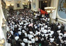 110 personas no cuentan con el perfil para el puesto para el que fueron contratadas. (Foto Prensa Libre: Hemerotecfa PL)