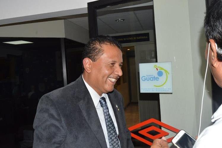 Dixon Díaz es vocal uno de lo órgano disciplinario y hará la función de presidente. (Foto Prensa Libre: Hemeroteca PL)