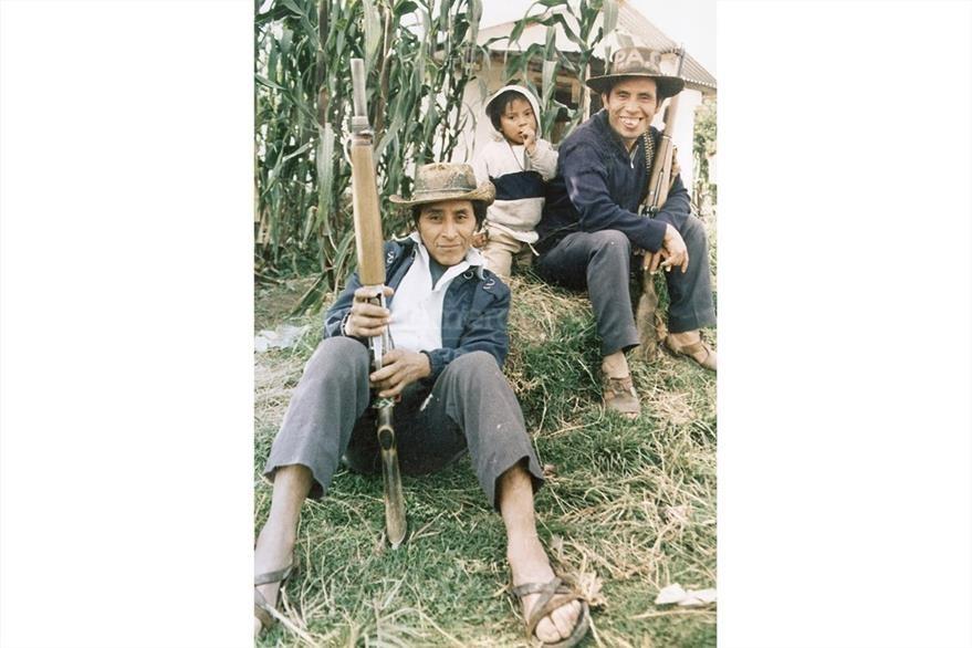 Una gran cantidad de patrulleros eran de comunidades indígenas. (Foto: Hemeroteca PL)