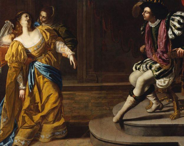 Artemisia Gentileschi aprendió a pintar en el taller del padre. THE METROPOLITAN MUSEUM OF ART