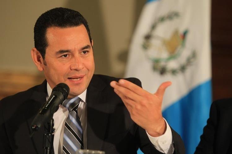 Jimmy Morales, presidente electo de Guatemala para el periodo 2016-2020. (Foto Prensa Libre: Hemeroteca PL)