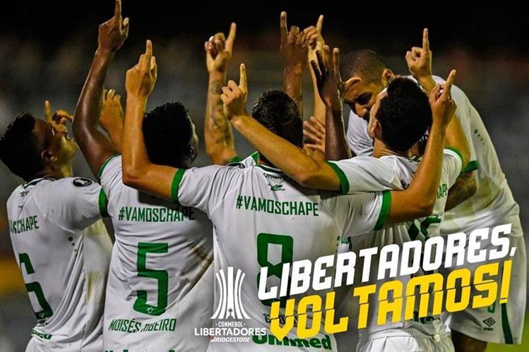 Con gol de último minuto, 'Chape' califica a Libertadores