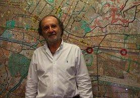 Luis Arbeláez Sierra, es un reconocido arquitecto en Medellín, Colombia. (Foto Prensa Libre: Josué León)
