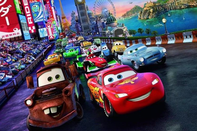 Cars es una cinta infantil de 2006 cuya secuela, Cars 2, se lanzó en 2011. (Foto Prensa Libre: Hemeroteca PL)