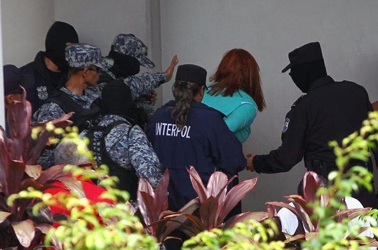 Marixa Lemus, alias la Patrona, dijo a la Prensa local que tenía derecho de estar en El Salvador.