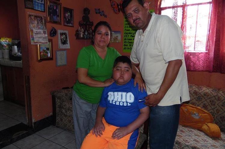 La familia de Marcos Castellanos reside en El Tejar, Chimaltenango. (Foto Prensa Libre: José Rosales)