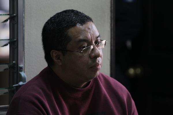 Eddy Salay Barillas es el único procesado por la estafa en el denominado caso Valat. (Foto Prensa Libre: Paulo Raquec)