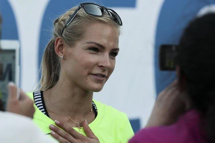 Darya Klishina se siente ofendida por la exclusión de los Juegos Olímpicos 2016. (Foto Prensa Libre: AP)