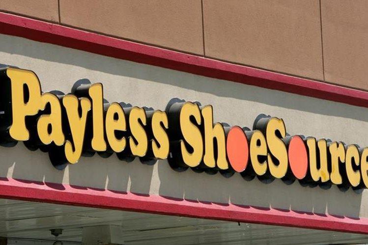 Cadena de zapaterías Payless se declaró en bancarrota en EE.UU. y Canadá. (Foto Prensa Libre: AP)